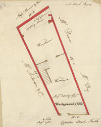 [Plan of property on Cateaton Street]